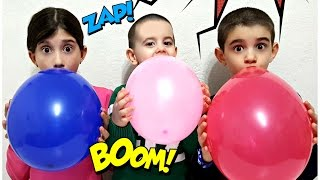 Baby Songs with Balloons | Johny Johny Yes Papa NURSERY RHYMES Learning Colors & Kids Songs