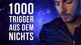GERMAN ASMR | 1.000 TRIGGER AUS DEM NICHTS | Geflüsterte Meditation zum Einschlafen