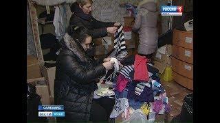Волонтеры и жители Салехарда в одной связке идут на помощь нуждающимся