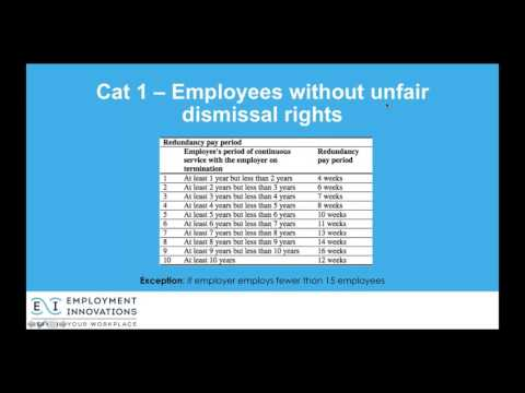 Complying with Australian Employment Law - Redundancy & Other Major Change Obligations