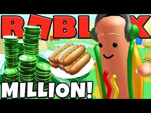 FOOD LAND HAS $$$ MILLION DOLLAR HOT DOGS - ROBLOX MINING TYCOON #23