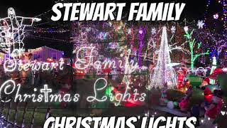 Stewart Family Christmas Lights ♥️
