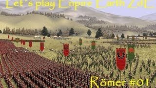 Lets Play Empire Earth ZdE - Römerkampagne #01 schwer [Deutsch HD] Weg mit dem Barbarengesindel
