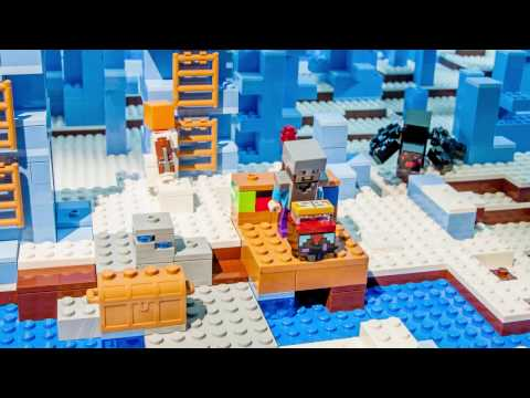 That's What Friends Are For - LEGO Minecraft - Stop motion video