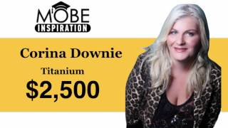 Titanium Consultant Corina Downie Earns $2,500 in 4 days!