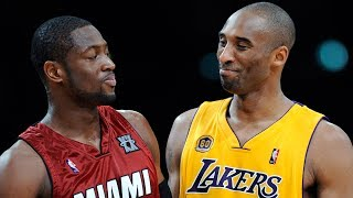 Dwyane Wade Reveals Where He Ranks Kobe on the All-Time Shooting Guard List