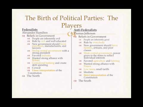 Lecture 2: Federalists and Anti-Federalists