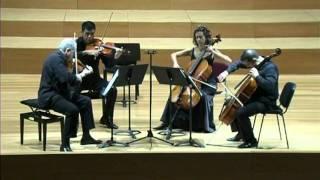 Arensky: Cuarteto de cuerdas en la m, nº 2 op. 35. Cuarteto CSMA. (1/3)