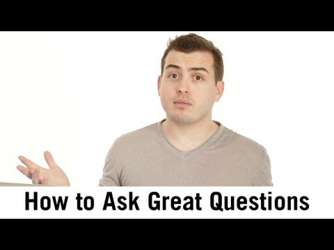 Learning To Ask Good Questions from YouTube · Duration:  59 seconds