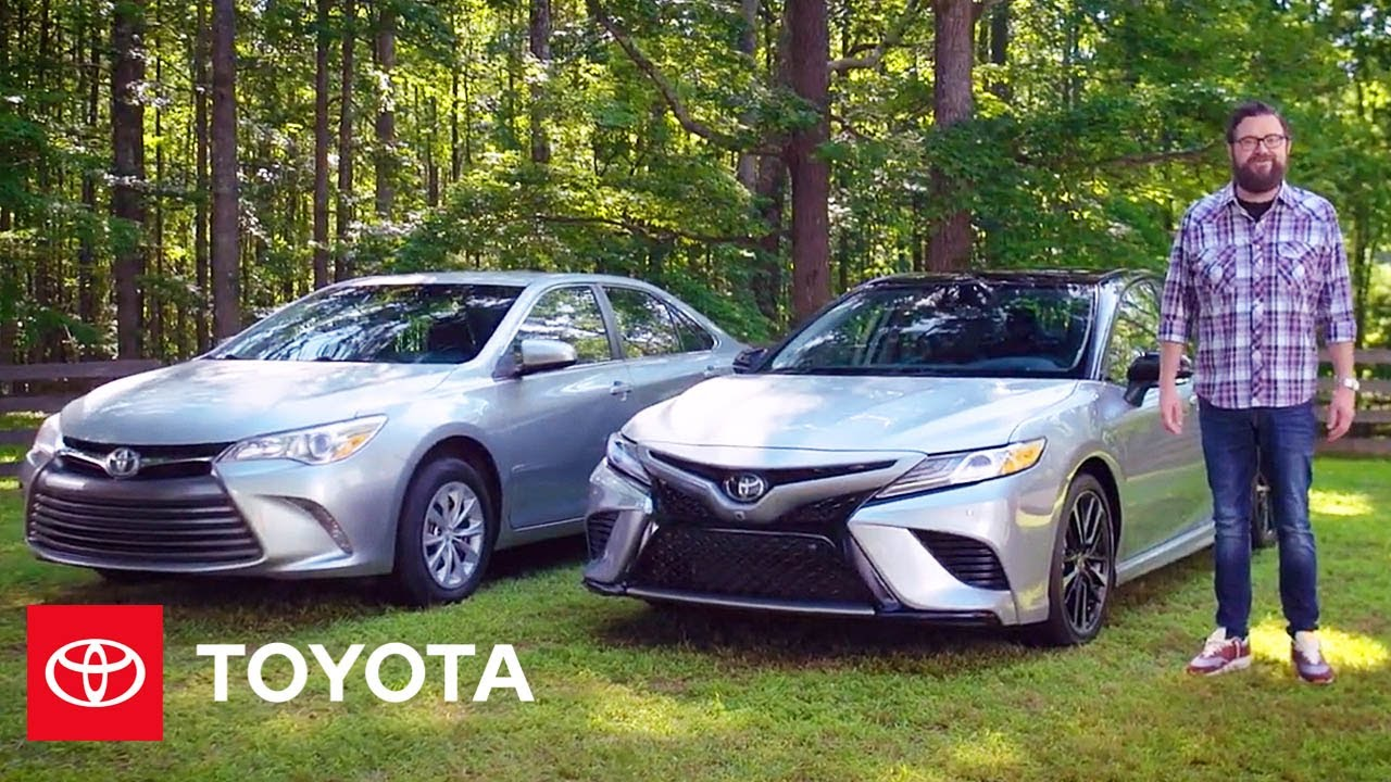 Comparing The Latest Toyota Camry | Toyota