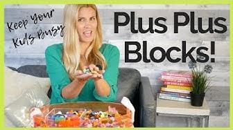 Plus Plus Blocks Ideas