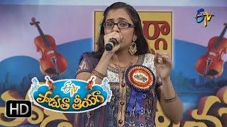 Andanga Lena Song - Priya Performance in ETV Padutha Theeyaga - 18th July 2016