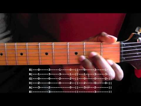 Californication Guitar Lesson With Tab