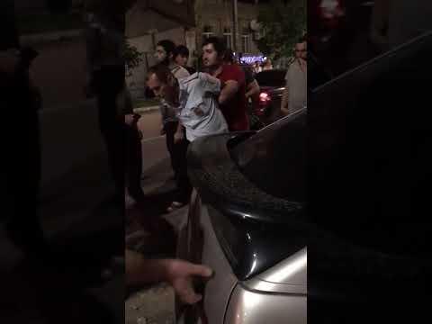 Дербент... Поймали того сотрудника полиции, который пытался скрыться на авто в не трезвом состоянии