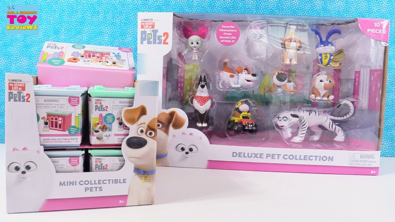 Secret Life Of Pets 2 Deluxe Pet Collection Blind Bag Houses Unboxing | PSToyReviews