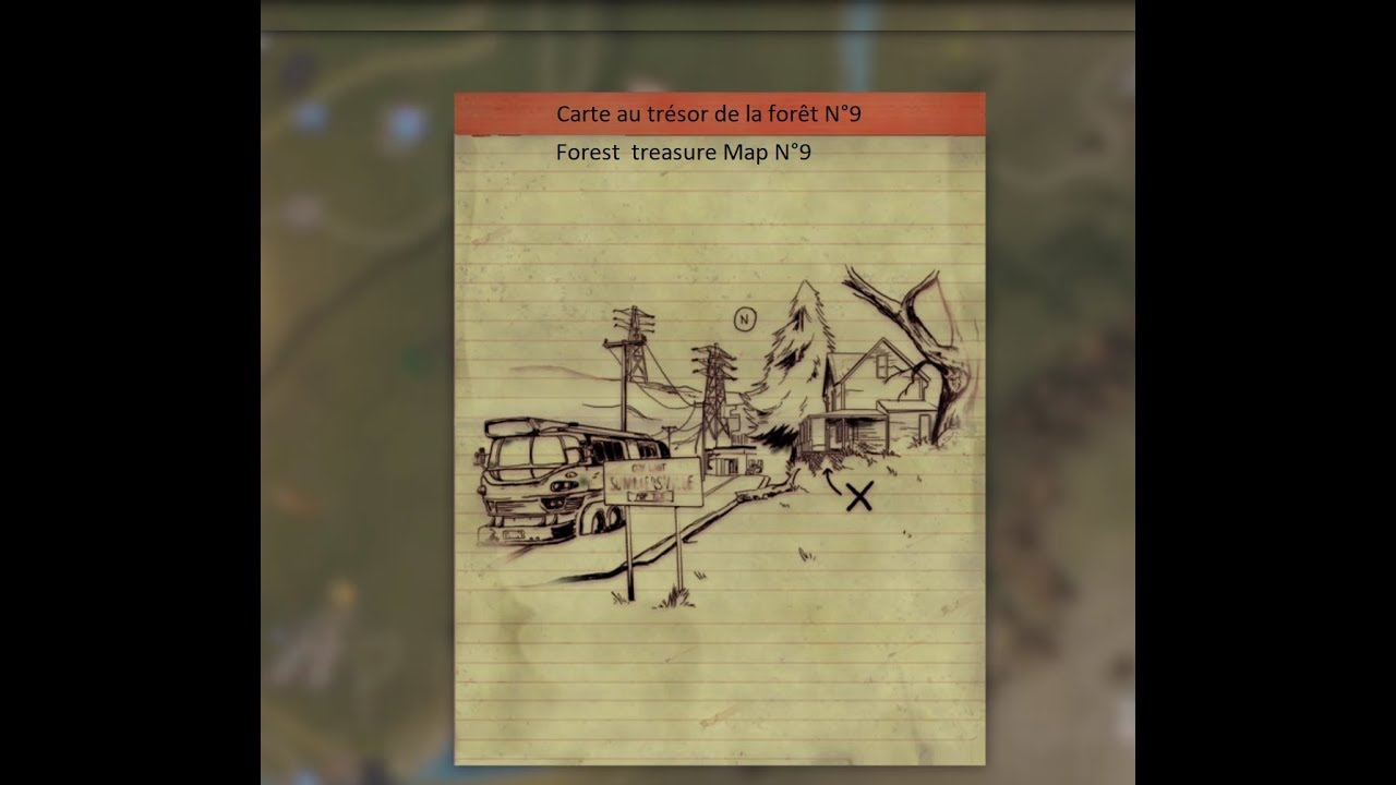 Fallout 76 Carte Au Tresor De La Foret N 9 Youtube