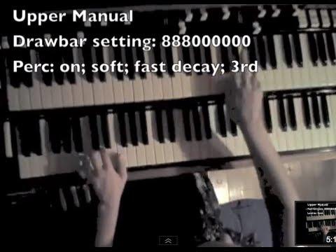 How to Play Jazz on the Hammond Organ - F Blues