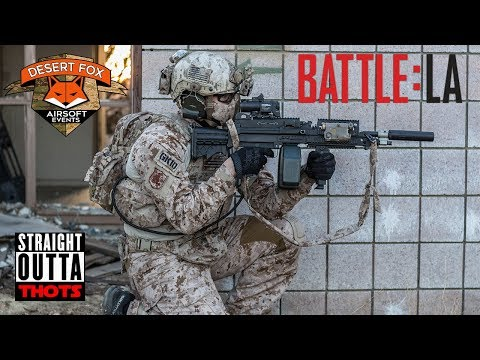 Support Weapon Sniper | Jet Desert Fox Events -The Battle For Los Angeles P2