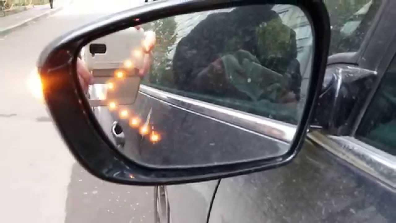 как разобрать боковое зеркало kia rio