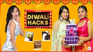 7 DIWALI Life Saving Beauty HACKS | Desi Jugaad Episode #1 | Anaysa