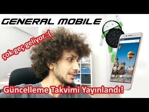 General Mobile'e Android 8.0 Çok Geç Gelecek! 😔