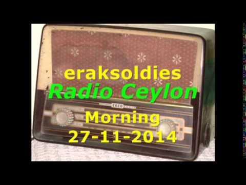 Radio Ceylon 27-11-2014~Thursday Morning~02 Purani Filmon Ka Sangeet - Tribute To Bhagatram