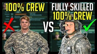 ► Skilled vs Unskilled 100% Crew has BIG Difference - World of Tanks Crew Skills Guide
