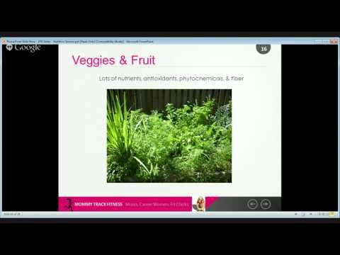 Postnatal Depletion Webinar Series - Nutrition - 5 of 5