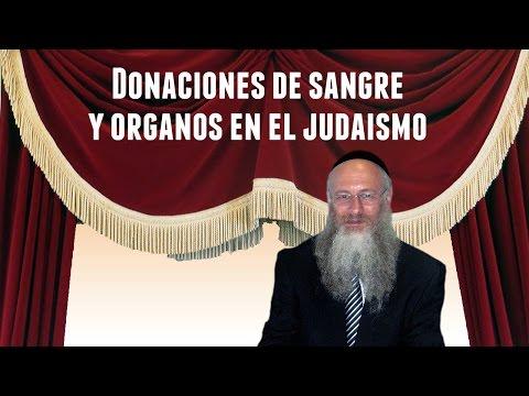 Donaciones de sangre y órganos en el judaismo