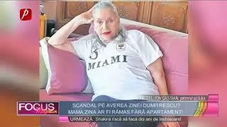 Scandal pe averea Zinei Dumitrescu?