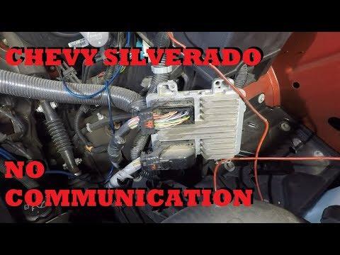 Chevy Silverado No Communication