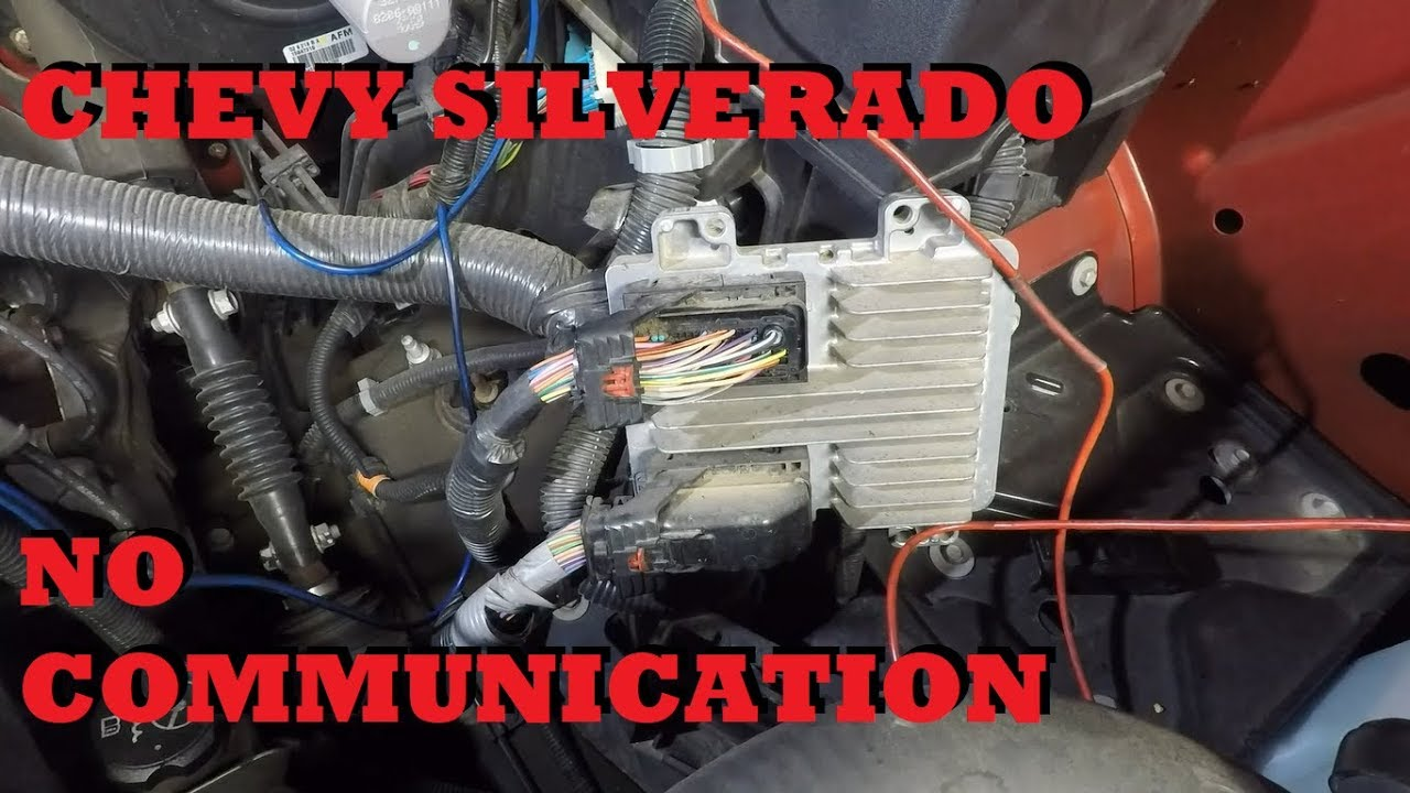 Chevy Silverado No Communication
