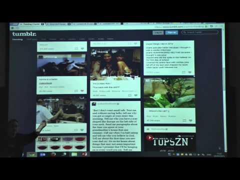 הרצאה בנושא טרנדים בעיצוב גרפי 2015 - המרכז לטכנולוגיה חינוכית