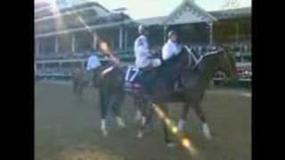 Big Brown wins the Kentucky Derby 2008