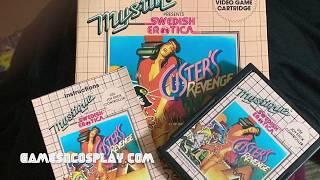 Atari Porn XXX - Custer's Revenge Video Game Cover Art