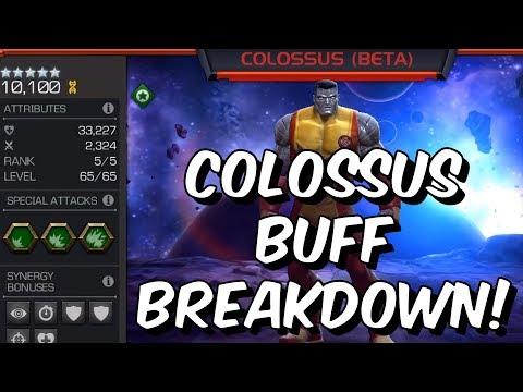 Colossus Buff Early Abilities Breakdown! - TRIPLE IMMUNITY