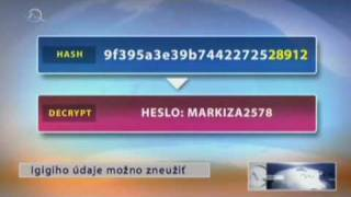 Hacker igigi TV Markiza