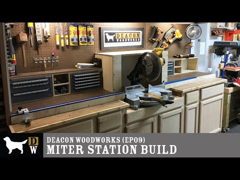 Dww Miter Station Build Ep09 Youtube