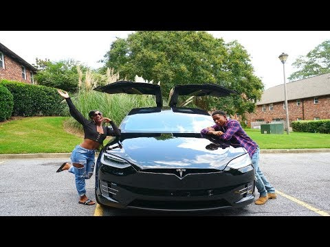 WE BOUGHT A TESLA MODEL X!!!!!