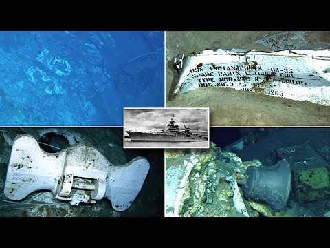 USS Indianapolis is found after 72 years on the sea bed