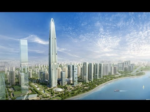 Wuhan Greenland Center (636m) - China's Next Tallest Building - Eco-Friendly Megatall