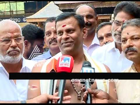VN Vasudevan Namboothiri is new melshanti of Sabarimala