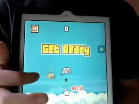 NO HACK! ME GETTING TO 9,999 ON FLAPPY BIRD!!!