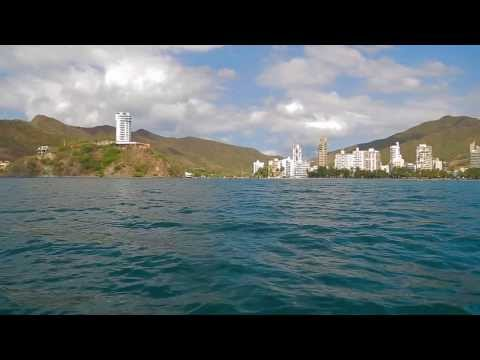 Santa Marta, Colombia - Playa Blanca and Bahia Concha