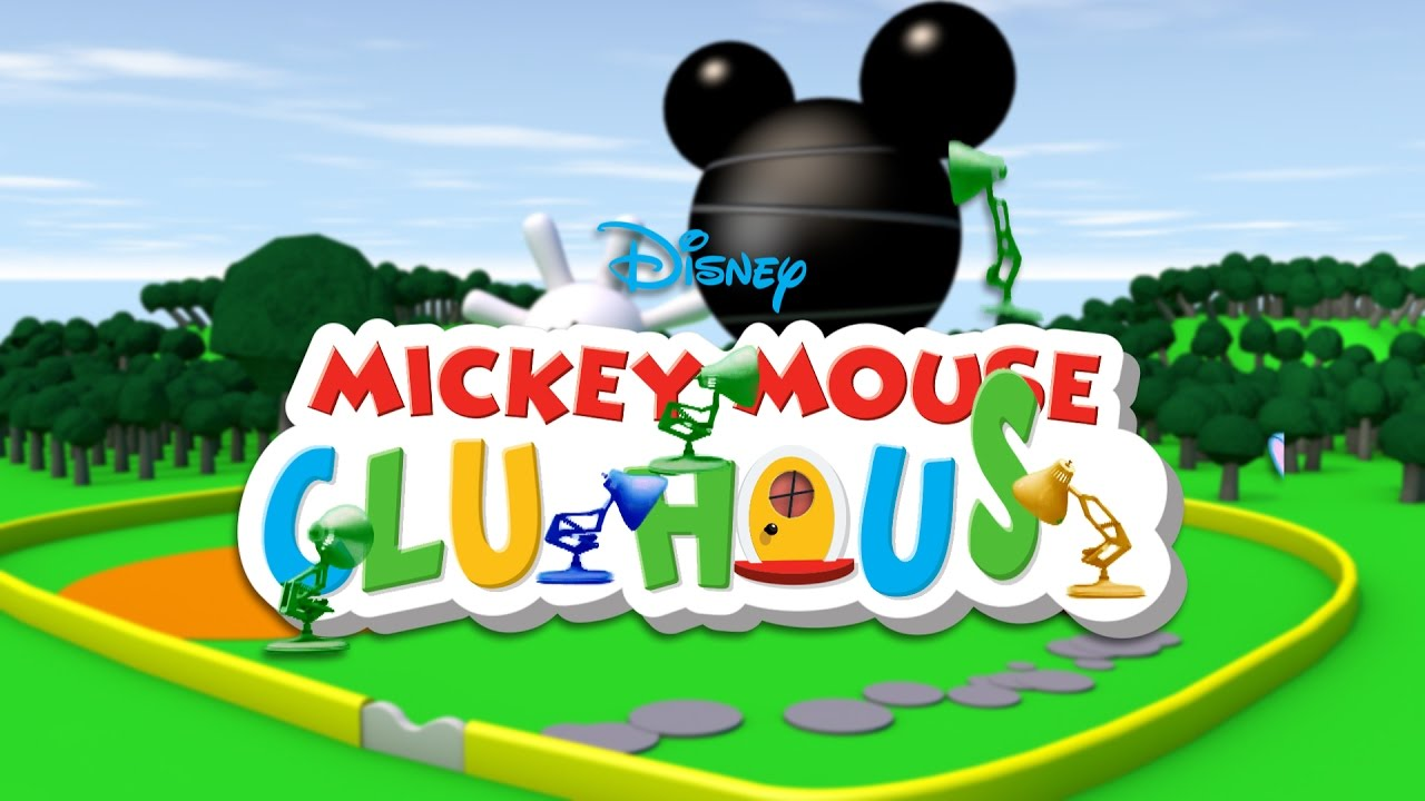388-Eight Pixar Lamps Luxo Jr Logo Mickey Mouse Clubhouse ...
