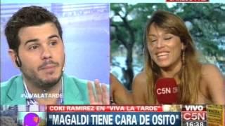 C5N - VIVA LA TARDE: COKI RAMIREZ Y NICO MAGALDI CANTAN A DUO