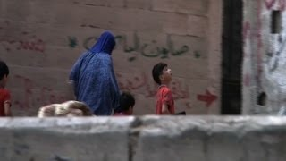 Raw: Gaza City Shelling Attack