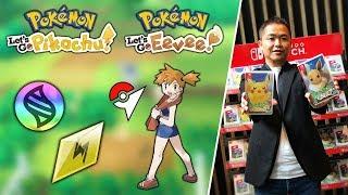 Gyms, Mega Evolutions, Z-Moves & More! - NEW INFO on Pokémon Let's Go Pikachu & Eevee