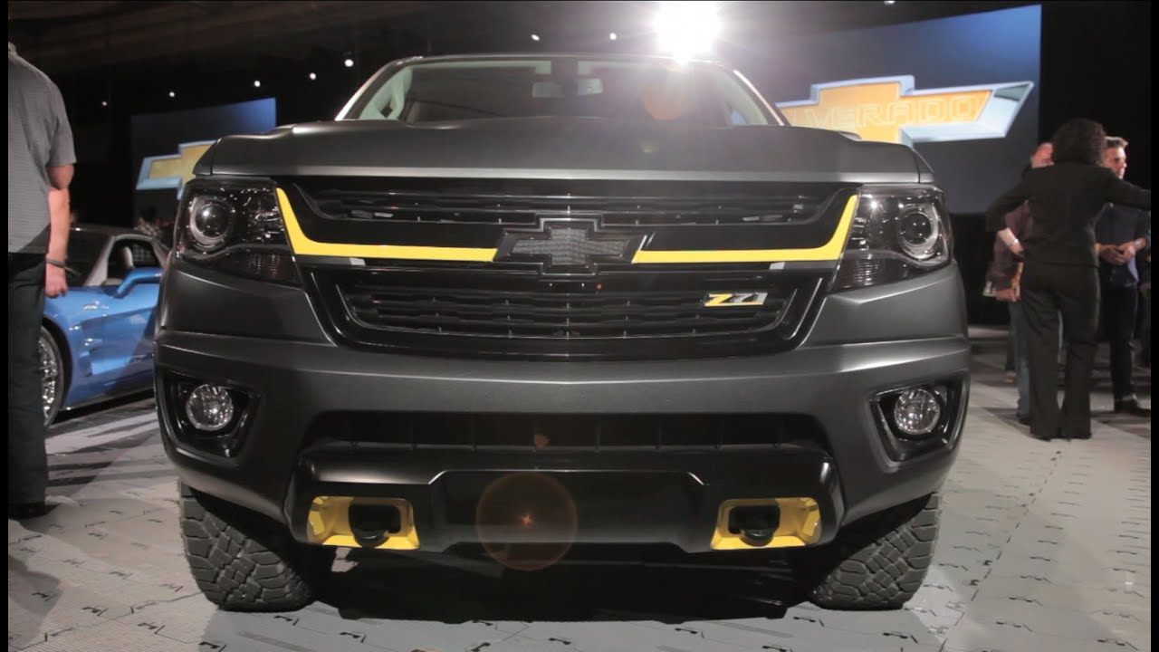 2015 Chevrolet Truck Concepts - 2014 SEMA Show - YouTube