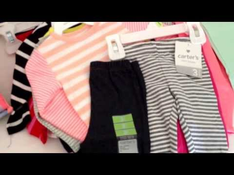 Baby Shopping Haul (Carter's, Gap Kids, Burlington, Babies R Us)